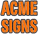 ACME SIGNS LOGO